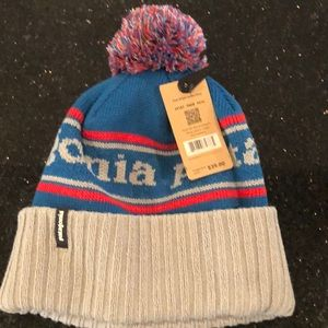🆕Patagonia men's powder town beanie Pom Pom hat